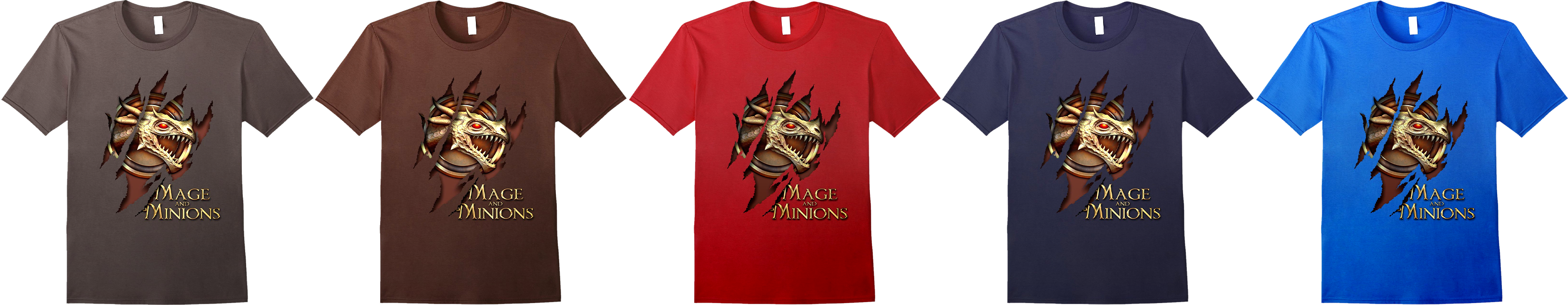 Mage and Minions regular t-shirt